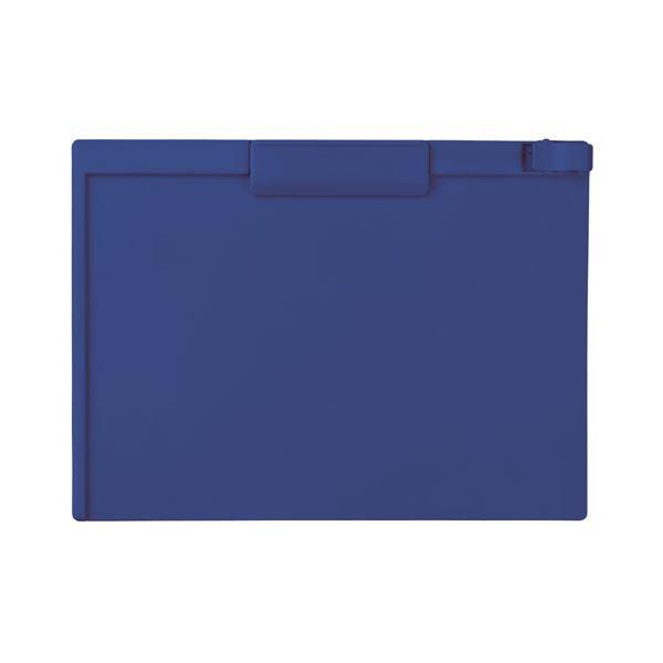 (まとめ) セキセイ クリップボード A4ヨコ SSS-3057P-15ネイビーブルー 1枚 【×30セット】 青