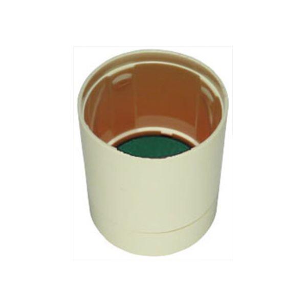 (まとめ) シヤチハタ データーネームEX15号アイボリー キャップ 緑 XGL-15PC2-G 1個 【×30セット】