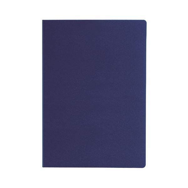 セキセイ クリップファイル(ダブル)A4 ネイビーブルー FB-2036-15 1セット(10枚)