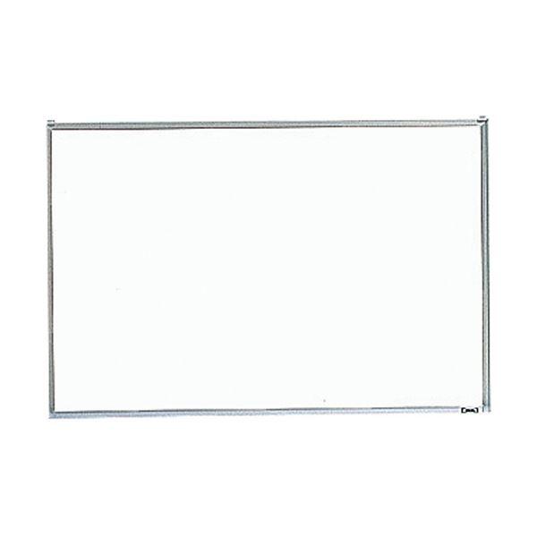 (まとめ)TRUSCO 壁掛金属 スチール ホワイトボードペントレー付き GH-142 1枚【×3セット】 白
