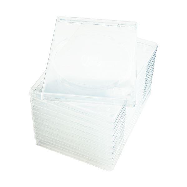 (まとめ) ナガセテクノサービス CD/DVD M-ロックケース スーパークリア FD1001TLSC10 1セット(50枚:10枚×5パック) 【×5セット】