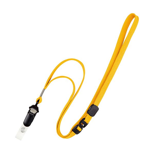 オープン工業 ループクリップ 脱着式 黄NB-50-YE 1セット(100本:10本×10パック)