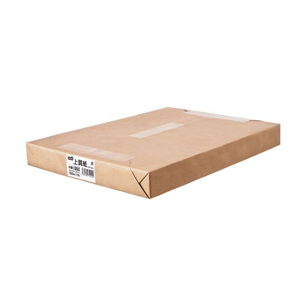 (まとめ) TANOSEE 上質紙 中厚口SRA3(450×320mm) 1冊(500枚) 【×5セット】