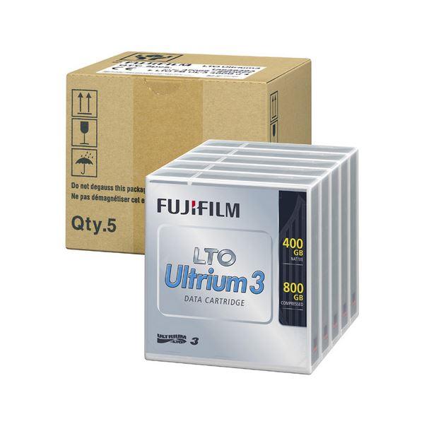 富士フイルム LTO Ultrium3データカートリッジ 400GB LTO FB UL-3 400G JX5 1パック(5巻)