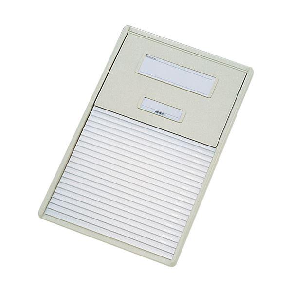 リヒトラブ カラーカードインデックスA4 21ポケット オフホワイト HC112C-1 1冊 白