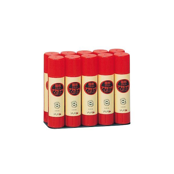 ヤマト 固形アラビック 口紅タイプお徳用パック 10g YS-8-10S 1セット(240本:10本×24パック)