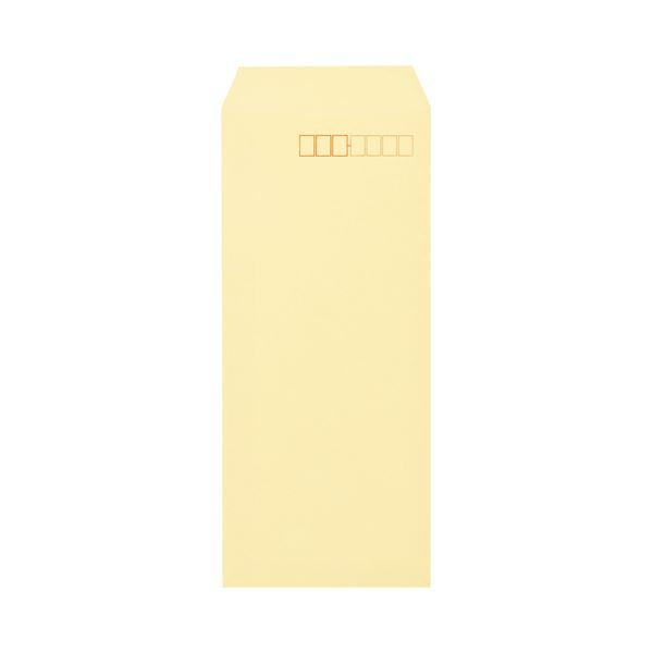 (まとめ) キングコーポレーション ソフトカラー封筒 長4 80g/m2 〒枠あり クリーム N4S80C 1パック(100枚) 【×30セット】