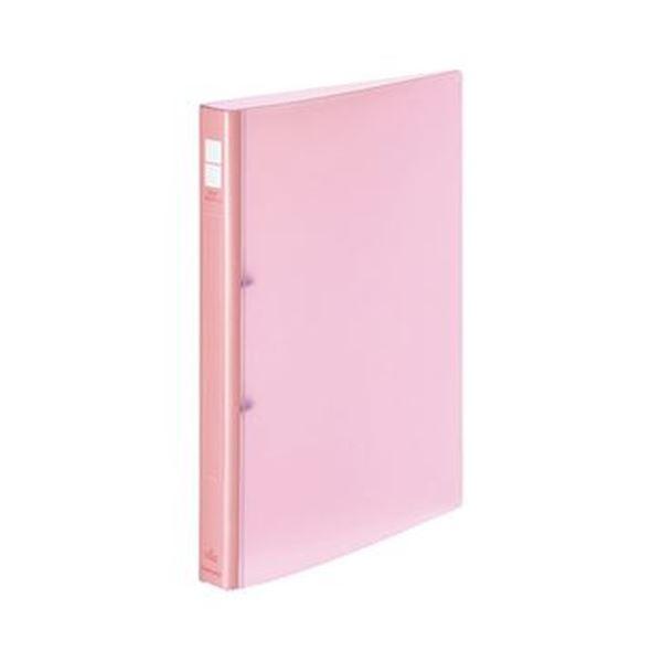 (まとめ)コクヨ ポップリングファイル A4タテ2穴 150枚収容 背幅31mm ピンク フ-P420NP 1セット(10冊)【×3セット】