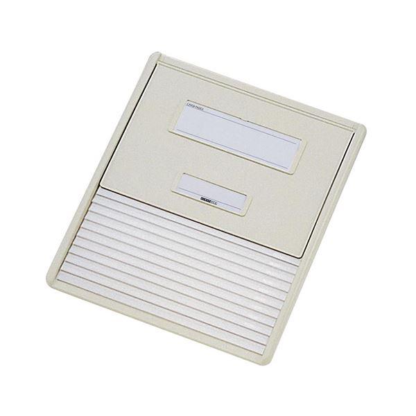 リヒトラブ カラーカードインデックスA4 11ポケット オフホワイト HC111C-1 1冊 白