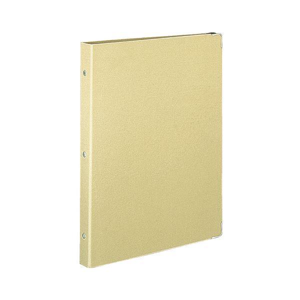 (まとめ)コクヨ バインダーノート(カラーパレット)ミドルタイプ A4タテ 30穴 ベージュ ル-155-6 1冊【×5セット】