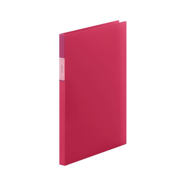 (まとめ) キングジム フェイバリッツ Zファイル 透明 A4 赤【×50セット】