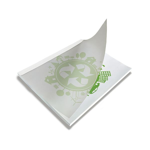 (まとめ) ジャパンインタ-ナ とじ太くんECOカバー ホワイト A4タテ 1.5mm幅【×5セット】 白