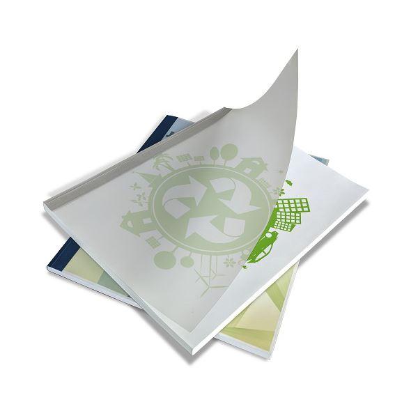 (まとめ) ジャパンインタ-ナ とじ太くんECOカバー ホワイト A4タテ 3mm幅【×5セット】 白