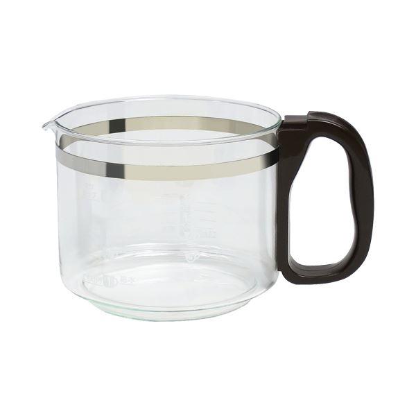 (まとめ) 象印 コーヒーメーカージャグEC-AA660用 ブラウン 1個 【×10セット】 茶