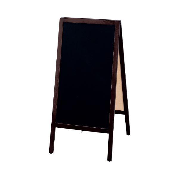 (まとめ)光 A型スタンド黒板 大 TBD70-4(×3セット)