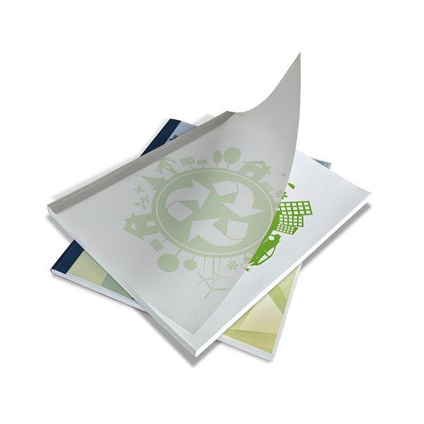 (まとめ) ジャパンインタ-ナ とじ太くんECOカバー ホワイト A4タテ 9mm幅【×5セット】 白