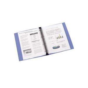 (まとめ) ビュートン リングクリヤーブック(クリアブック) A4タテ 30穴 30ポケット付属 背幅32mm グリーン RCB-A4-30GN 1冊 【×10セット】 緑
