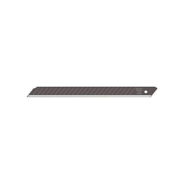 (まとめ) 貝印カミソリ 黒替刃ロング 24B-501ケース(50枚) 【×10セット】