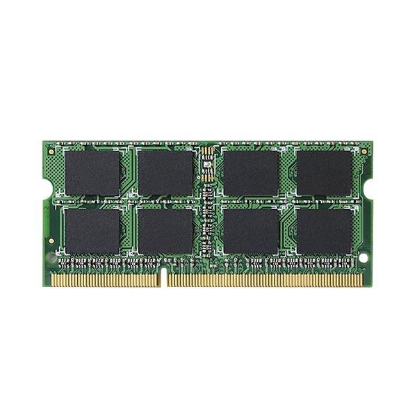 エレコム RoHS対応DDR3-1600 204pin S.O.DIMM 4GB EV1600-N4G/RO 1枚