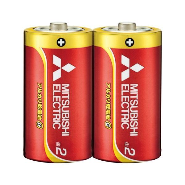 (まとめ) 三菱電機 乾電池 LR14GD/2S 単2 2本【×30セット】
