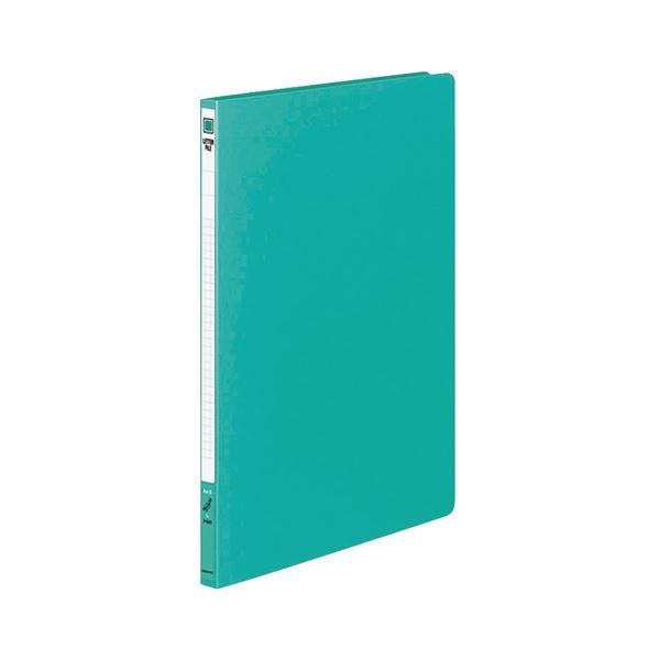 (まとめ) コクヨ レターファイル(PP表紙) A4タテ 120枚収容 背幅18mm 緑 フ-520G 1冊 【×30セット】