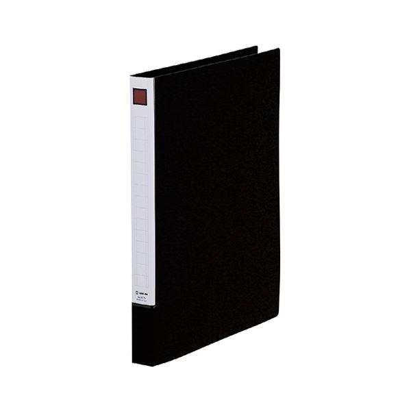 (まとめ) キングジム リングファイル(脱・着)NA4タテ 2穴 150枚収容 背幅27mm 黒 637N 1冊 【×30セット】