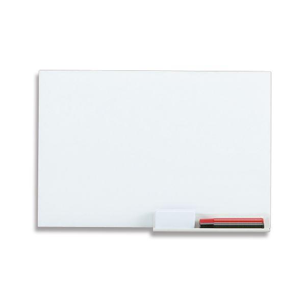 (まとめ) TANOSEE ホワイトボードシート マグネットタイプ 450×300mm 1枚 【×5セット】 白