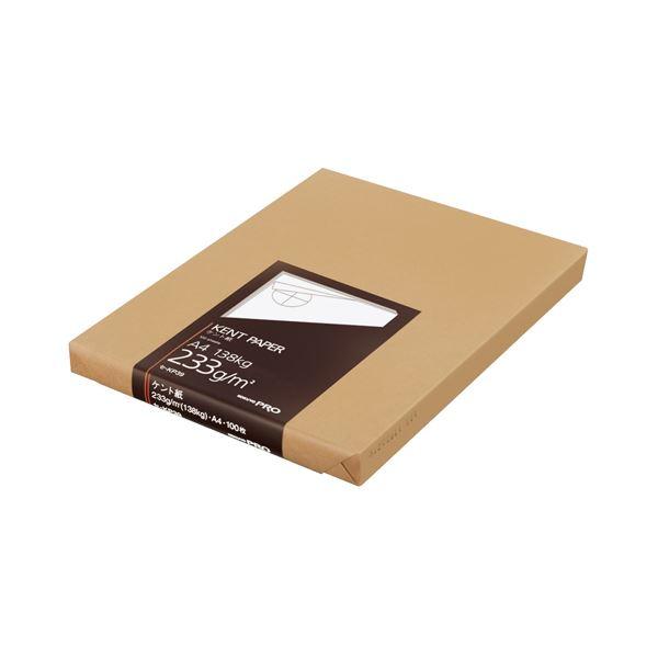 (まとめ) コクヨ 高級ケント紙 233g/m2A4カット セ-KP39 1冊(100枚) 【×5セット】