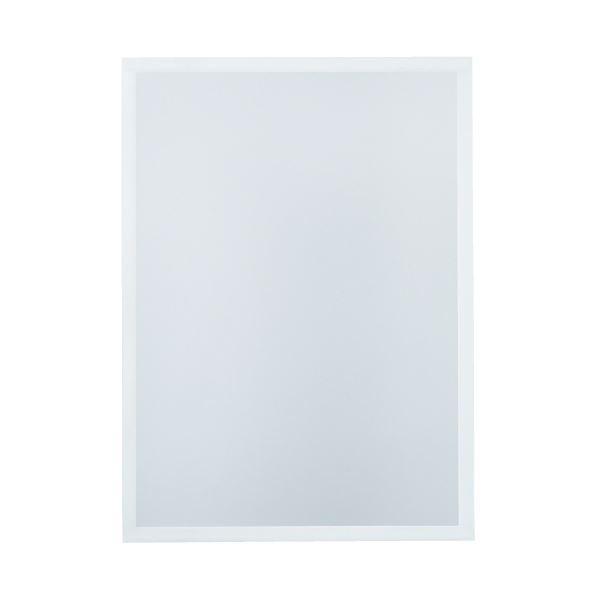 (まとめ)今村紙工 マグネットフレームシートA4 白 5枚 MF-A4W(×10セット)