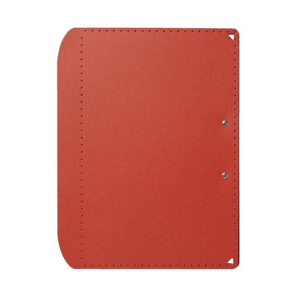 (まとめ)プラス おりたためるA3クリップボード+ レッド(×50セット) 赤