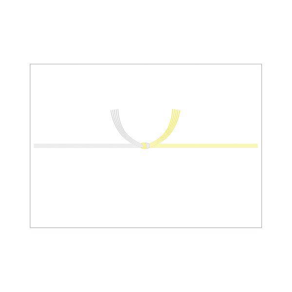 (まとめ) タカ印 のし紙 2‐240 A3判 黄水引京百枚【×10セット】