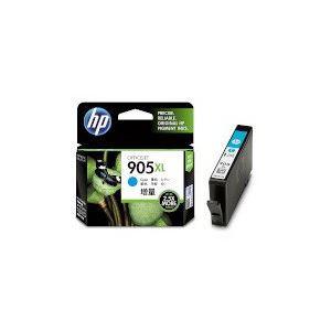 (まとめ) HP HP905XL インクカートリッジシアン T6M05AA 1個 【×10セット】