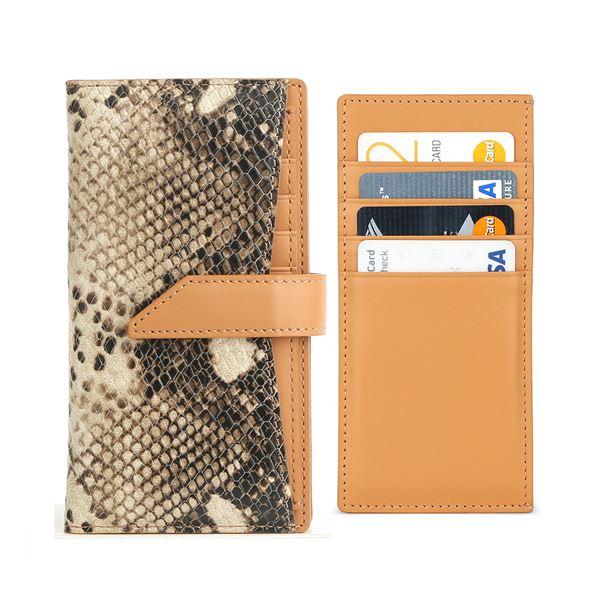 DESIGN SKIN 多機種対応スライド式手帳型ケース WALLET PLUS (M) ブラウン 茶