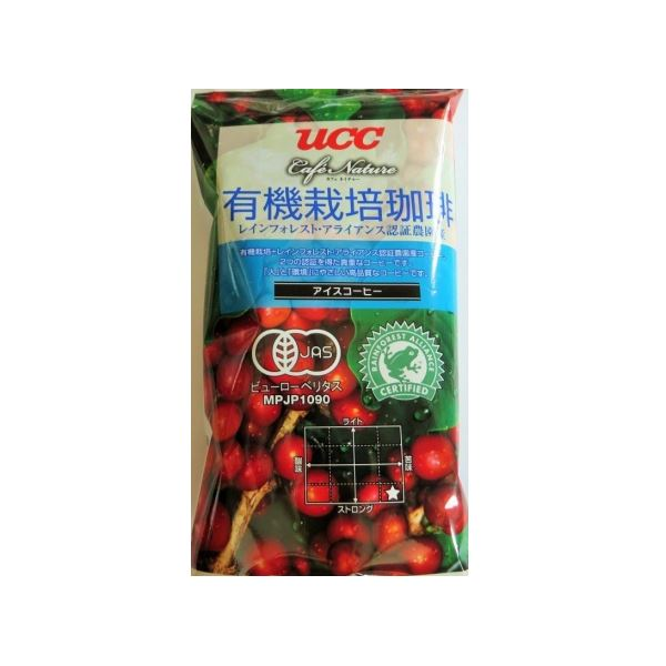 UCC上島珈琲 UCC CN有機+RA認証アイスコーヒーSAS(粉)GF125g 40袋入り UCC302818000