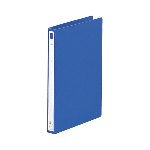 (まとめ)リヒトラブPPリングファイル(ディンプル) A4タテ 2穴 150枚収容 背幅27mm 藍 F-867-9 1冊 【×20セット】