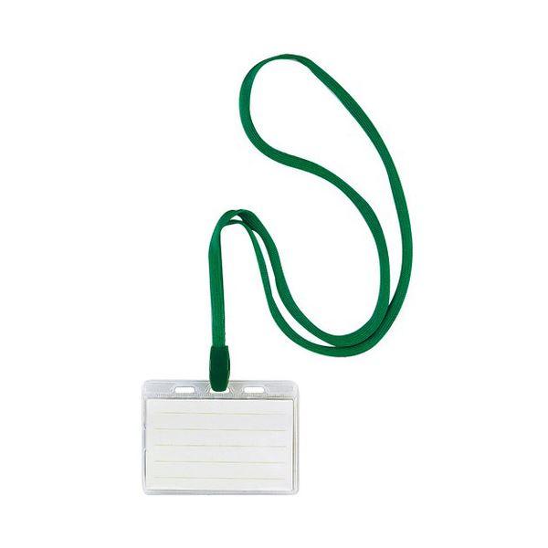 (まとめ)ソニック 吊り下げ名札スタンダードタイプ ソフト 緑 NF-452-G 1セット(30個:10個×3箱)【×3セット】
