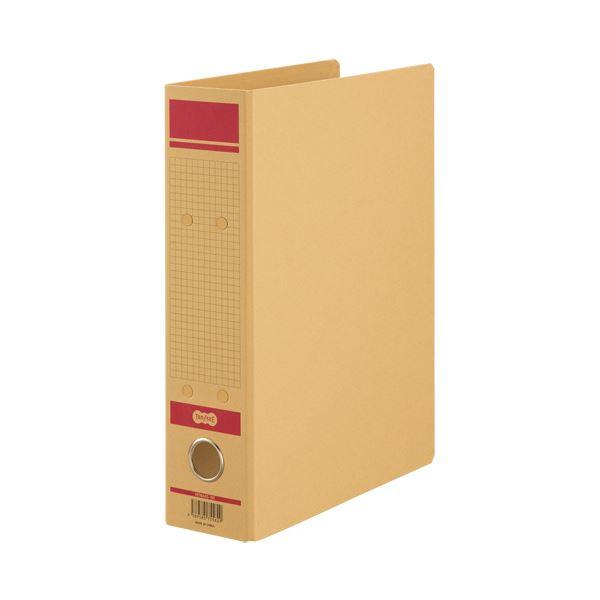 (まとめ) TANOSEE保存用ファイルN(片開き) A4タテ 500枚収容 50mmとじ 赤 1セット(12冊) 【×5セット】