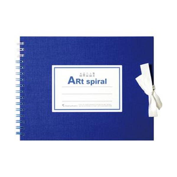 (まとめ)マルマン スケッチブックアートスパイラル F0 ブルー 24枚 S310-02 1冊【×20セット】 青