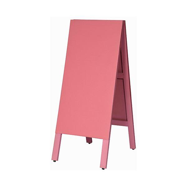 馬印 多目的A型案内板 ピンクのこくばんWA450VP 1枚
