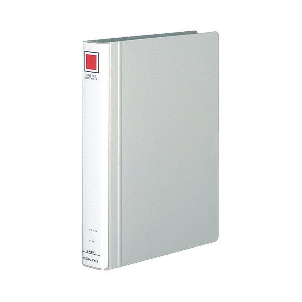 (まとめ) コクヨ チューブファイル(エコツインR) A4タテ 300枚収容 背幅45mm シルバー フ-RT630C 1冊 【×30セット】