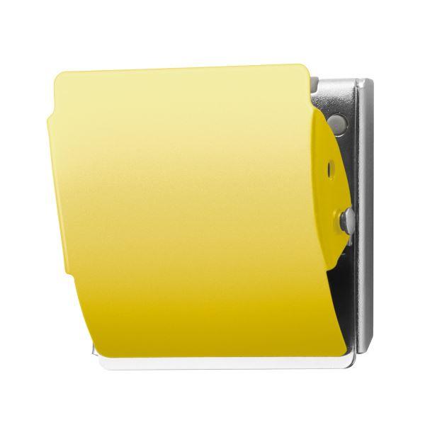 (まとめ)プラス マグネットクリップ CP-047MCR L イエロー【×50セット】 黄