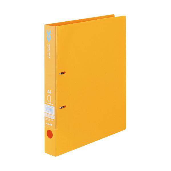 クリヤーポケットやインデックスもセットできるワイド表紙 まとめ コクヨ バーゲンセール Dリングファイル K2 A4タテ 1冊 背幅36mm K2フ-CD420YR 大規模セール ×30セット オレンジ