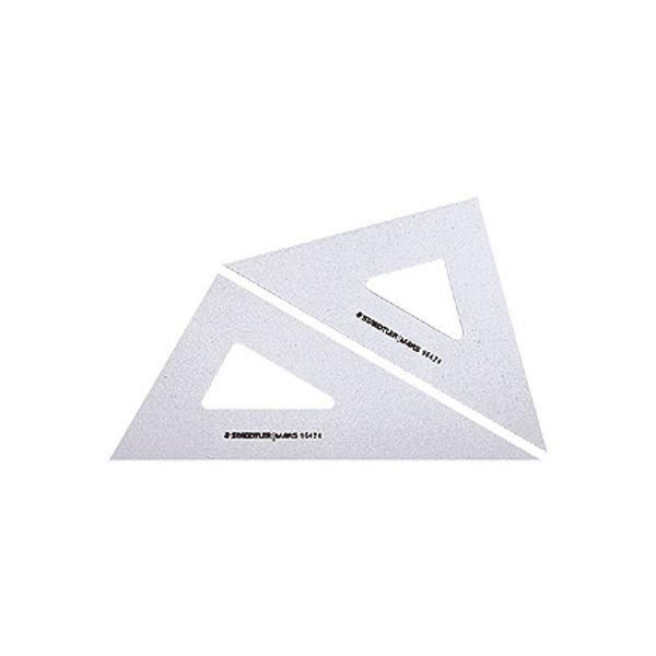 (まとめ) ステッドラー マルス 三角定規 15cm45°・60°ペア 964 15 1組 【×30セット】