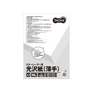 特別オファー (まとめ) TANOSEE カラーレーザープリンター用 光沢紙 薄手 A3 1冊(100枚) 【×30セット】, マルチカラー 3c632ce8