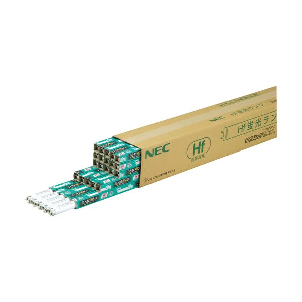 NEC Hf蛍光ランプライフルックHGX 32W形 3波長形 昼白色 業務用パック FHF32EX-N-HX1セット(75本:25本×3パック)