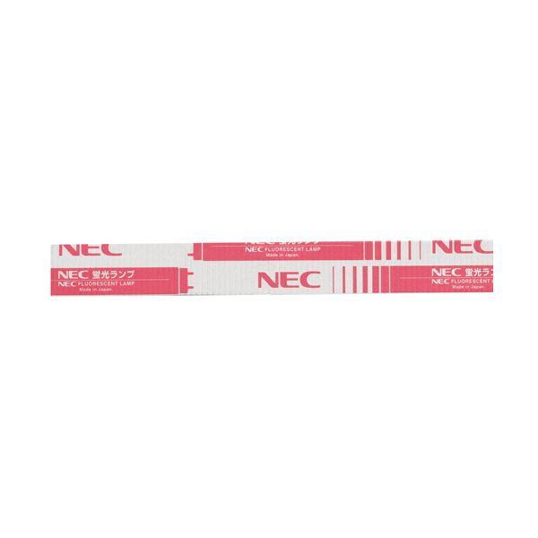 (まとめ)NEC 蛍光ランプ ライフライン直管グロースタータ形 30W形 白色 FL30SW 1パック(25本)【×3セット】