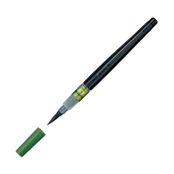 筆記具 筆ペン まとめ ぺんてる 筆 1本 超歓迎された XFL2B 太字 ×10セット 激安超特価