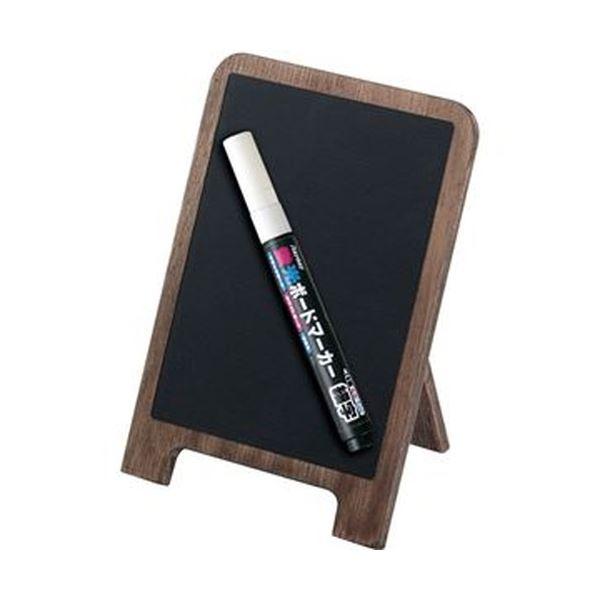 (まとめ)レイメイ藤井アンティーク卓上 ブラックボード A6 LPT124 1枚【×10セット】 黒