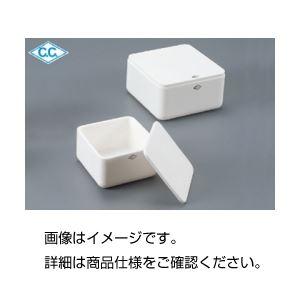 (まとめ)SSA-T燃成用容器150×150×50mm用蓋【×10セット】