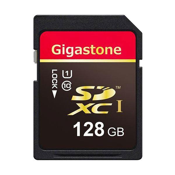 (まとめ)Gigastone SDXCカード128GB UHS-1 GJSX/128U 1枚【×3セット】